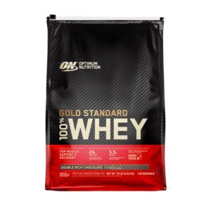 Optimum Nutrition 100% Whey Protein 10 lbs (4.54 kg)