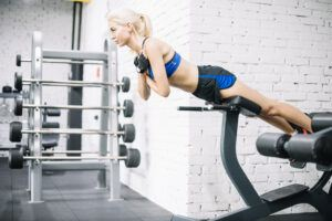 Back Extension or Hyperextension Exercise for the Lower Back