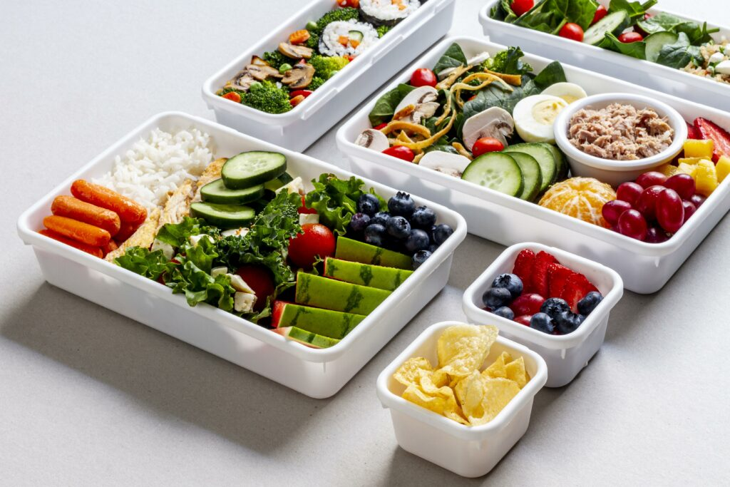 Healthy, nutritious and well-balanced meals for muscle growth