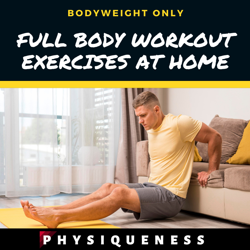 Full Body Workout Exercises At Home│Staying Fit With Just Your Bodyweight